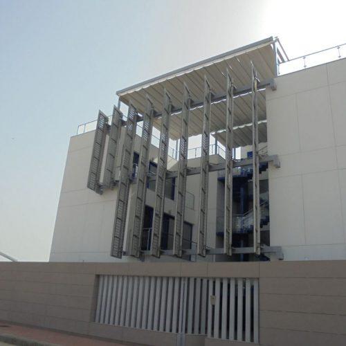 Lamas giratorias para protección solar